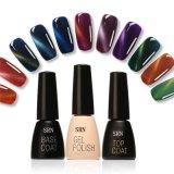 Multi-Color Soak Off Gel à ongles Polonais Cat Eye UV & LED brillant Longue durée de l'ongle