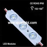 Injeção 2835 com o módulo do diodo emissor de luz da lente 1