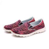 Breathabke Lace-up beiläufige Frauen-Form-Segeltuch-Schuhe