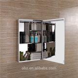 L'alto grado impermeabilizza il Governo dello specchio della stanza da bagno dell'acciaio inossidabile 304 con il LED