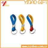 Catena chiave personalizzata variopinta Nonperishable del silicone