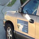 Освободите стикер магнита автомобиля PVC конструкции мягкий
