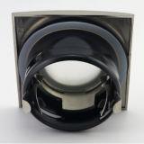 Aluminium quadratische örtlich festgelegte vertiefte LED Badezimmer-unten Leuchte des Druckguss-GU10 MR16 (LT1901)
