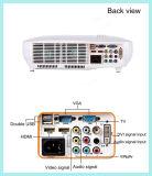 휴대용 가정 소형 3000 루멘 가정 시스템 LED 영사기
