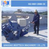 Máquina del chorreo de arena de la cubierta de puente de la eficacia alta