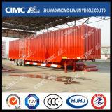 Cimc Huajun 3axle Semi-remorque Van / Box