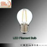CE SAA de la luz de bulbo del filamento del LED E27 8W