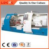 Máquina grande horizontal industrial do torno do CNC do furo para a venda Ck61100
