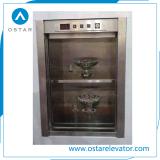 Mini ascenseur de cargaison, levage utilisé par cuisine de restaurant