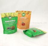 Malote Ziplock de pé impresso costume do empacotamento plástico, microplaqueta de batata/sacos com próprio logotipo, sacos do petisco do alimento