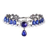 Горячий продавая сплав Neckalce ожерелья диаманта ожерелья перлы преувеличенный