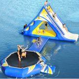 Ascensione gonfiabile dell'acqua Slide/Trampoline/