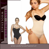 Black Latex Full Sweat Cincher Neoprene Waist Trainer Slimming Body Shaper (TG9991)