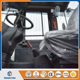 中国2トンの小型ローダーの前部車輪のローダー4のWdの構築機械装置