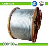 Алюминиевой проводник проводника усиленный сталью ACSR