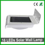 Lámpara de pared solar al aire libre brillante del nuevo estilo LED para el jardín