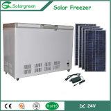congelador de refrigerador profundo del refrigerador del pecho solar del compresor 466L de la C.C. 12/24V