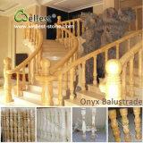 현관을%s 중국 백색 까만 빨강 노랗고 또는 황금 브라운 대리석 화강암 Baluster 또는 계단 또는 발코니