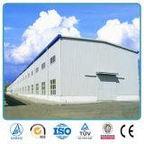 Projets en acier de fabrication d'atelier de structure de grande envergure de qualité