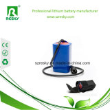 bateria do Li-íon 18650 de 14.8V 2600mAh para o espanador elétrico do rádio