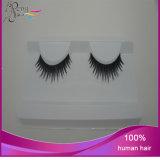 Cigli falsi della striscia dei capelli umani dei cigli 100%