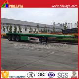 Механически трейлер 60t перехода контейнера подвеса 40FT планшетный