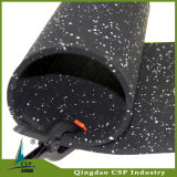 8mm Negro de goma Suelos de aptitud de la gimnasia