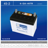 Belastete Autobatterie 12V100ah trocknen