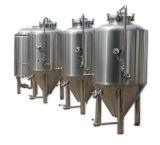 150 tanque cónico inoxidável do fermentador da fabricação de cerveja de cerveja do auto DIY do galão