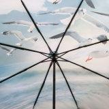 자동 섬유유리 프레임 늑골을%s 가진 가까운 선물 접히는 우산 열거든
