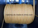 Cordes d'amarrage de bateau de brin du nylon 12
