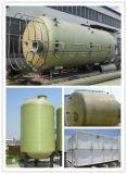 De Samengestelde Tank GRP die van de glasvezel de Doos van het Hete Water bewaren