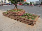 Contenitore di legno di plastica di fiore