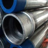 Socket와 Cap를 가진 Pre-Galvanized Pipe Threaded Ends