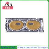 Máscara de ojo oscura anti del oro del círculo 24k de los cosméticos de belleza de los productos del gel cristalino al por mayor del colágeno