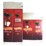 Materiais de empacotamento asséptico para a caixa da parte superior do frontão do vinho 1L