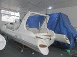 Bateau rigide de fibre de verre de la coque 6.6m Hypalon de constructeur de bateau de Liya (HYP660)