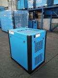 Compresseur d'air rotatoire magnétique permanent de vis de conversion de fréquence