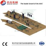 Panneau aéré par autoclave de mur en béton formant la machine 100000m3 - 150000m3