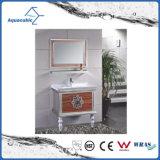 Mobília clássica do banheiro do aço inoxidável da mobília moderna de Brown do estilo
