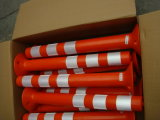 75cm PE Warning Bollards