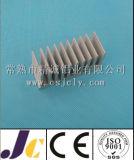 Perfil de alumínio de anodização de prata do dissipador de calor, perfil de alumínio (JC-P-80003)