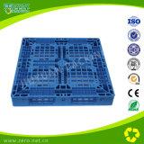 Exportação de seção transversal Pallrt plástico do Único-Lado de quatro vias (com garras)