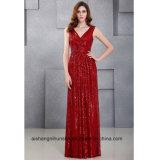 Платье выпускного вечера партии вечера длиннего Sequin женщин безрукавный