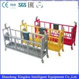 plate-forme suspendue par gondole de nettoyage (de type réglable) pour la construction