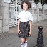 Chemises d'étudiante de qualité et uniforme scolaire de jupe