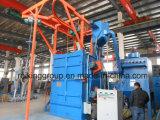 Haltbarer Gebrauch-hakenförmige Granaliengebläse-Maschine