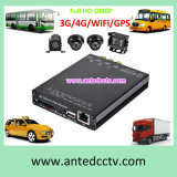 Самая лучшая система CCTV автомобиля DVR канала 2CH 4 для наблюдения видеоего шины корабля