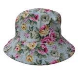 Sombrero del compartimiento con la tela floral (BT076)