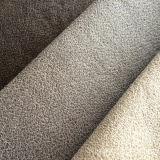 Composé micro en cuir de tissu de suède de polyester pour le sofa à la maison